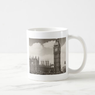 Big Ben Clock Tower London Classic White Coffee Mug