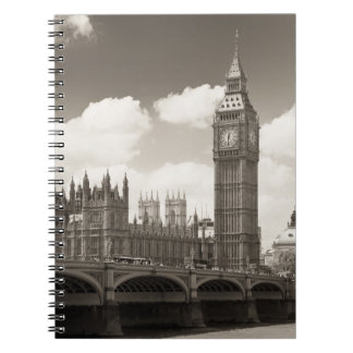 Big Ben Clock Tower London Note Books
