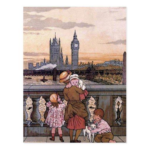 """""""Big Ben Clock Tower, London"""" Postcards"""