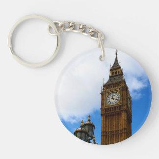 Big Ben Customisable Double-Sided Round Acrylic Key Ring