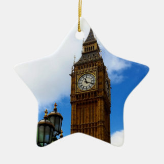 Big Ben Double-Sided Christmas Ornament