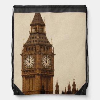 Big Ben Drawstring Bag