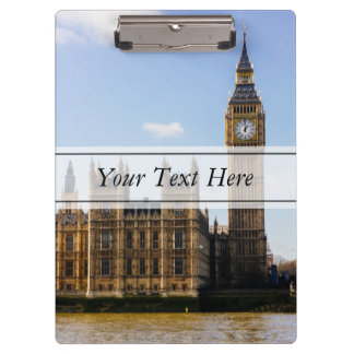 Big Ben, Houses of Parliament, London UK Clipboard