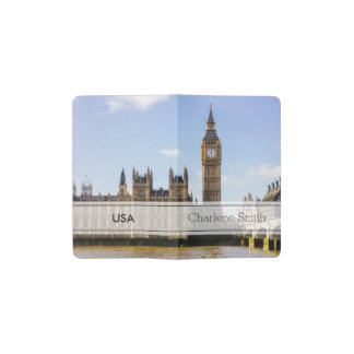 Big Ben, Houses of Parliament, London UK Pocket Moleskine Notebook