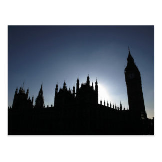 Big Ben Houses of Parliament Westminster London Post Cards