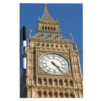 Big Ben Houses Parliament Westminster London Dry Erase Board