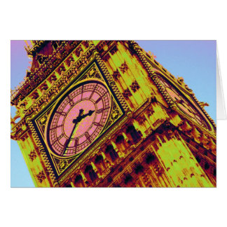 Big Ben in Colour Card