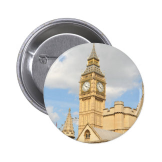 Big Ben in London 6 Cm Round Badge