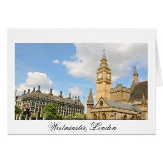 Big Ben in London Card