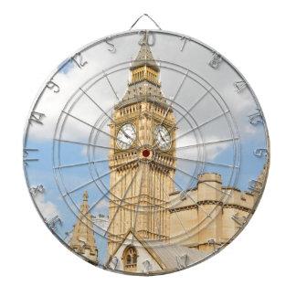 Big Ben in London Dartboard