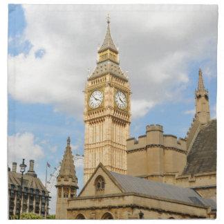 Big Ben in London Napkin