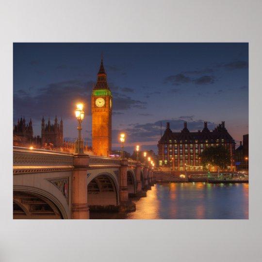 Big Ben in London Poster