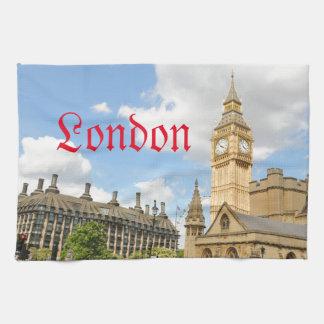 Big Ben in London Tea Towel