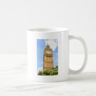 Big Ben in London, UK Basic White Mug