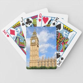 Big Ben in London, UK Bicycle Playing Cards