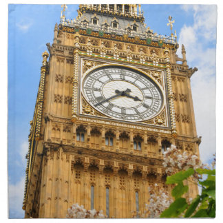 Big Ben in London, UK Napkin