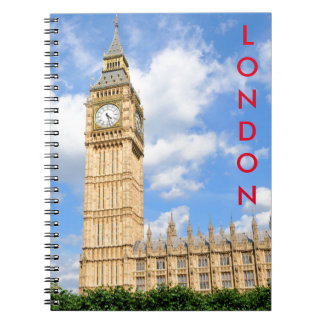 Big Ben in London, UK Notebooks
