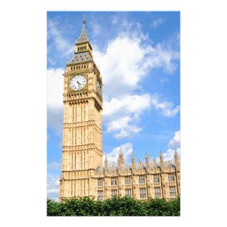 Big Ben in London, UK Stationery