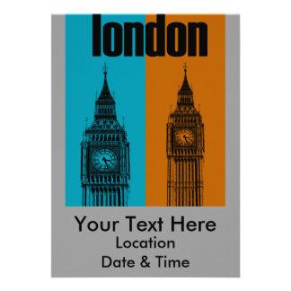 Big Ben in London Ver 2 Personalized Invitation