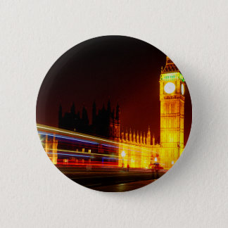 Big Ben, London 6 Cm Round Badge