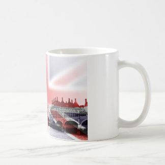 Big Ben London and Union Jack flag Coffee Mug