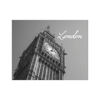 Big Ben London Stretched Canvas Print