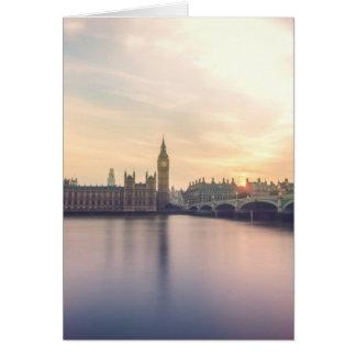 Big Ben, London Card
