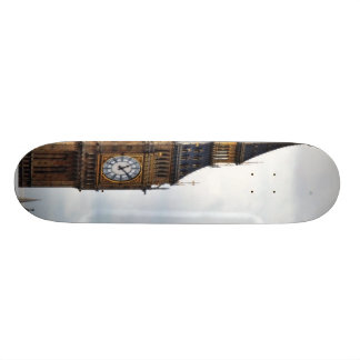Big Ben London Clock Towers And Westminster Abbey Skateboard