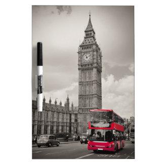Big Ben London Dry Erase Whiteboard