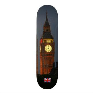Big Ben, London, England 21.3 Cm Mini Skateboard Deck