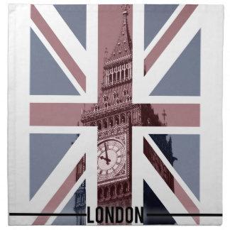 Big Ben, London Napkin