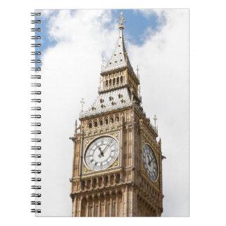 Big Ben London Spiral Note Book