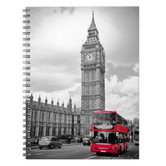 Big Ben London Spiral Note Books