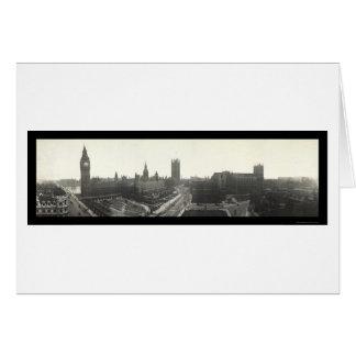 Big Ben London Photo 1919 Card