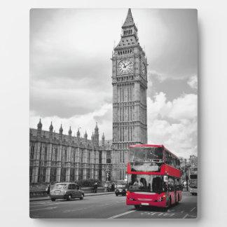 Big Ben London Plaque