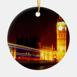 Big Ben, London Round Ceramic Decoration