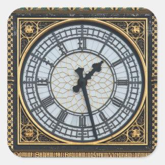 Big Ben London Square Sticker