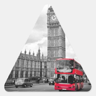 Big Ben London Triangle Sticker