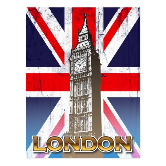 Big Ben - London, U.K. Postcard