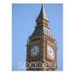 Big Ben London UK postcard