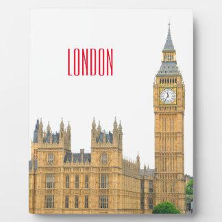 Big Ben Plaque