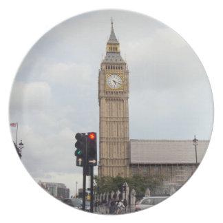 Big Ben Plate