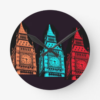 Big Ben Round Clock