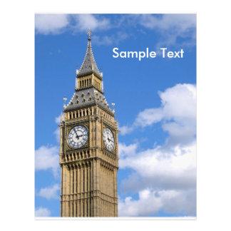 Big Ben, Sample Text 21.5 Cm X 28 Cm Flyer