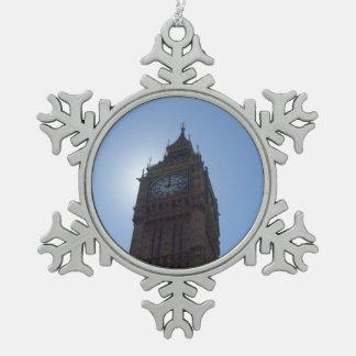 Big Ben Snowflake Ornament