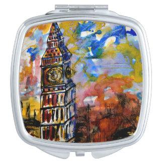 Big Ben Strikes Ten Clock Vanity Mirrors