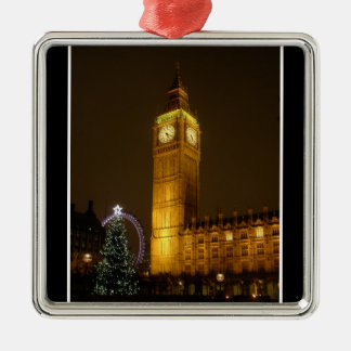 Big Ben ticks Goodnight Christmas Ornament