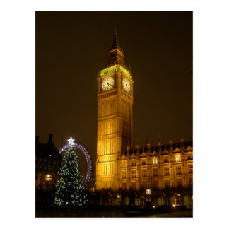 Big Ben ticks Goodnight Postcard