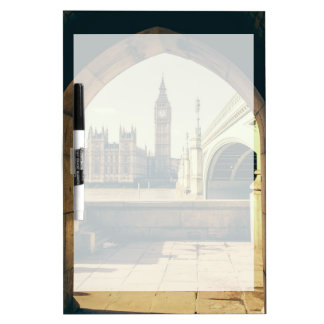 Big Ben Under The Arch, London UK. Dry-Erase Boards