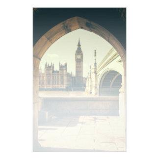 Big Ben Under The Arch, London UK. Stationery